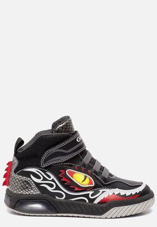 Geox JR Gregg sneakers met lampjes blauw