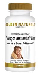 Golden Naturals 7 daagse immuniteitskuur 21 vegacapsules