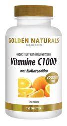 Golden Naturals Vitamine c1000 met bioflavonoiden 250 tabletten