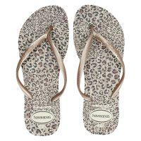 Havaianas Slim Animals slippers bruin