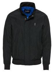 Heren Tussenjas 'Simple Ams Blauw harrington jacket'