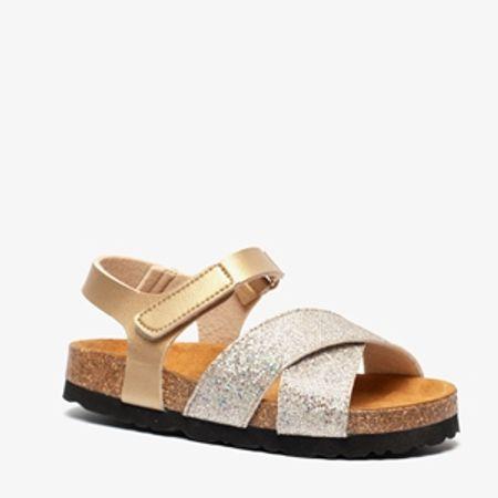 Hush Puppies meisjes bio sandalen met glitters