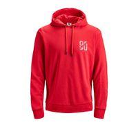 Jack & Jones Core hoodie met logo rood