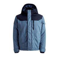 JACK & JONES CORE winterjas KOOL blauw/marine/zwart