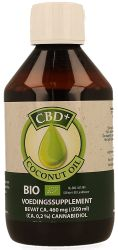 Jacob Hooy CBD+ Coconut Oil
