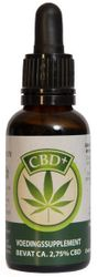 Jacob Hooy CBD+ Olie 2.75%
