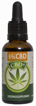 Jacob Hooy CBD+ Olie 5%
