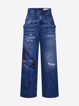 Jeans 'WIDEE-P-SX'