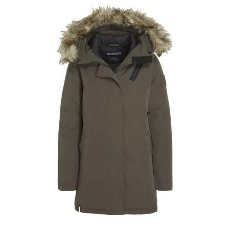 Khujo gewatteerde jas donkerblauw