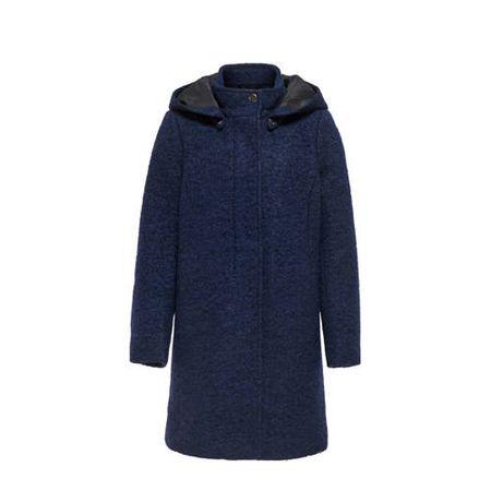 KIDS ONLY winterjas Sedona donkerblauw/zwart