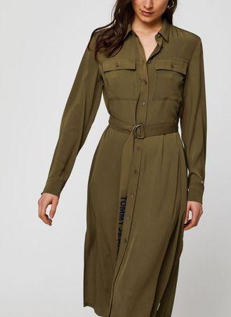 Kleding TWJ Midi Shirt Dress by Tommy Jeans
