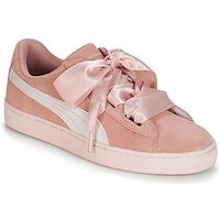 Lage Sneakers Puma  JR SUEDE HEART JEWEL.PEACH