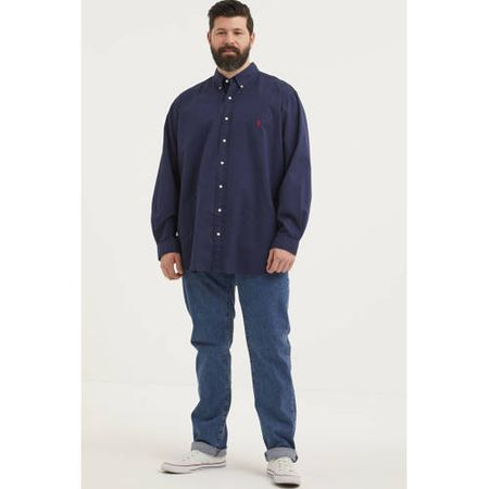 Levi's Big and Tall 514 straight fit jeans Plus Size stonewash stretch