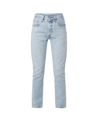 Levi's Levi's Montgomery high waist straight fit cropped jeans