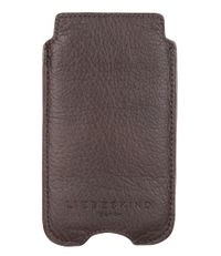 Liebeskind Smartphone covers Double Dyed Galaxy S4 Cover Bruin