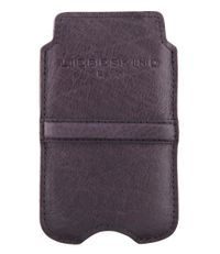 Liebeskind-Smartphone covers-Double Dyed iPhone 4 Cover-Grijs