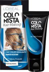 L'Oréal Paris Colorista Hair Makeup - Cobalt - 1 Dag Haarkleuring