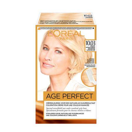 L'Oréal Paris Excellence Age Perfect 10.03 Extra licht natuurlijk goudblond
