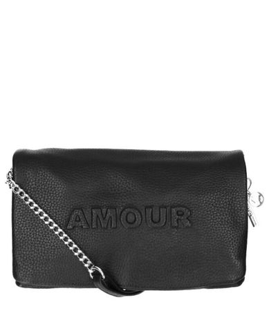 LouLou Essentiels Clutches Clutch Amour Zwart