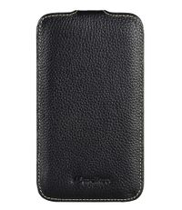 Melkco Smartphone covers Leather Case Galaxy Note Zwart