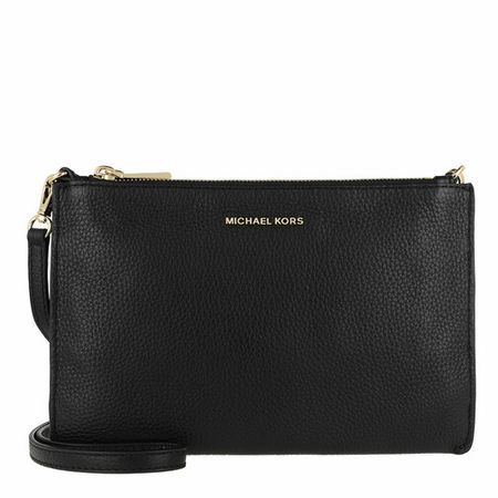 Michael Kors Crossbody bags - Large Double Pouchette Crossbody Bag in zwart