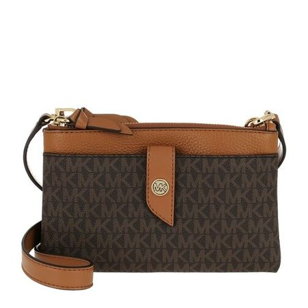 Michael Kors Crossbody bags - Medium Tab Dzp Phn in bruin