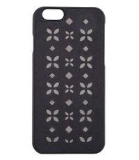 Michael Kors Smartphone covers iPhone 6 Cover Flora Zwart