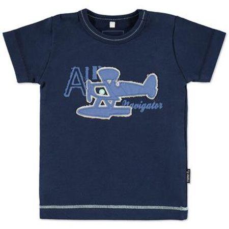 Name it  Boys Baby T-Shirt HUGO jurkje blauw - Blauw - Jongen