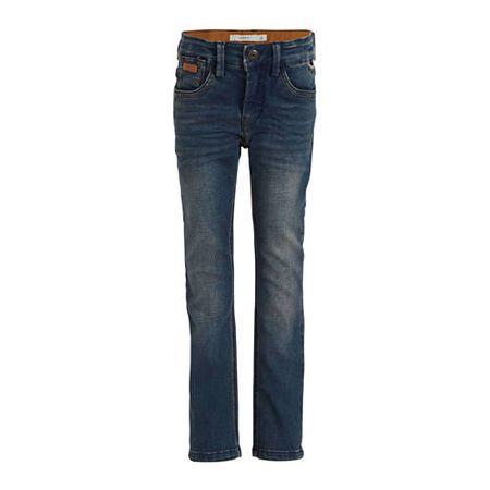 NAME IT KIDS slim fit jeans Silas dark denim