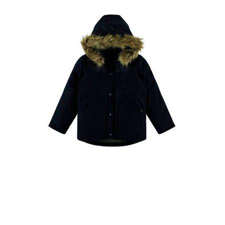 NAME IT KIDS winterjas donkerblauw
