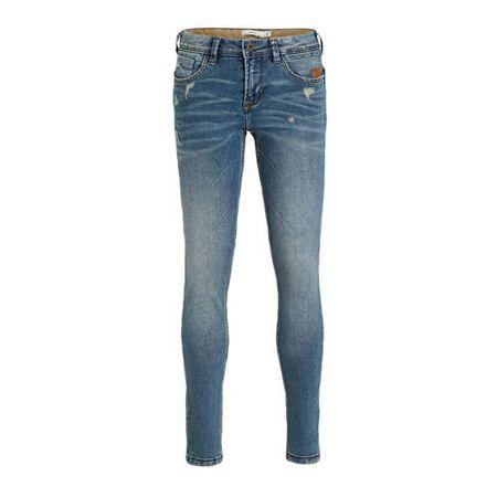 NAME IT regular fit jeans Ross met slijtage