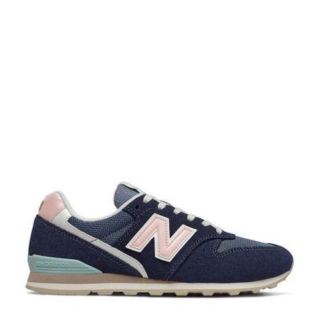 New Balance 996 sneakers donkerblauw/roze