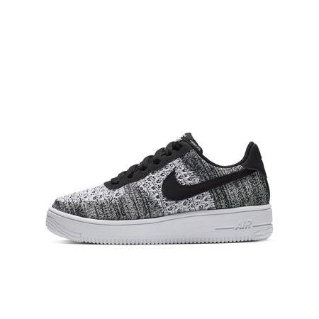 Nike Air Force 1 Flyknit 2.0 Schoen voor kleuters/kids - Zwart