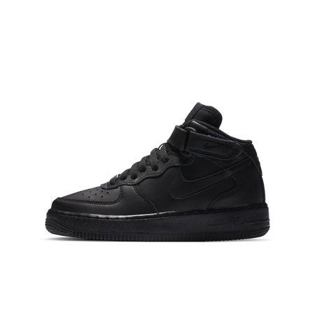 Nike Air Force 1 Mid 06 jongensschoen - Zwart