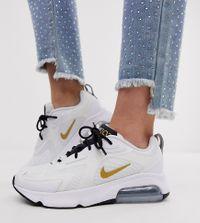 Nike - Air Max 200 - Sneakers in wit en goud
