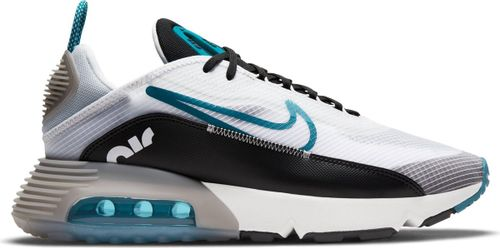 Nike Air Max 2090 Heren Sneakers - White/Green Abyss-Black-Pure Platinum