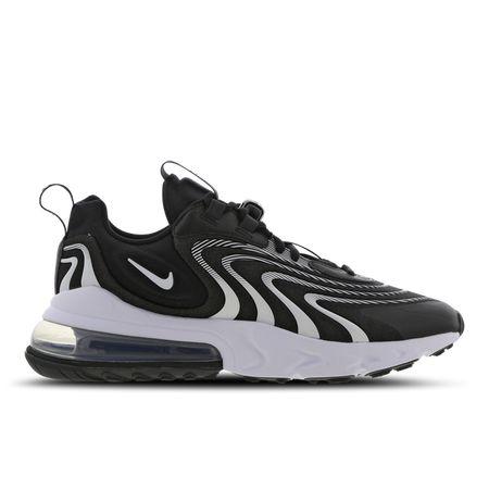 Nike Air Max 270 React Eng - Heren Schoenen - Black - Textil, Synthetisch - Maat 42 - Foot Locker