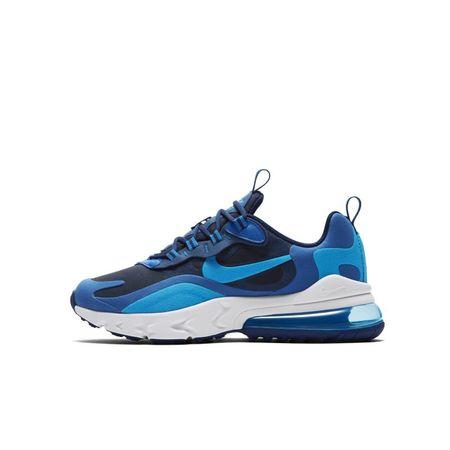 Nike Air Max 270 React Kinderschoen - Blauw