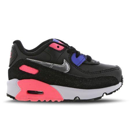 Nike Air Max 90 - Baby Schoenen - Black - Leer, Synthetisch - Maat 21 - Foot Locker