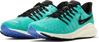 Nike Air Zoom Vomero 14 Sportschoenen Dames - Hyper Jade/Black-Sail-Sapphire-Laser Orange
