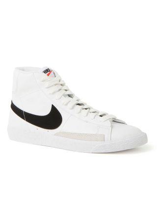 Nike Blazer Mid sneaker van leer