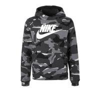 Nike hoodie camouflage grijs