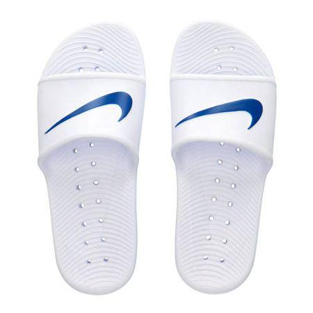 Nike Kawa Shower douche slippers wit/zwart