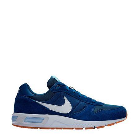Nike Nightgazer suède sneakers blauw
