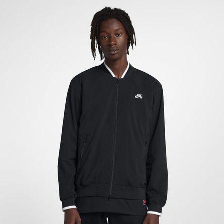 Nike SB Icon Skatejack in bomberstijl voor heren - Zwart