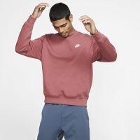 Nike Sportswear Club Herenshirt met ronde hals - Rood
