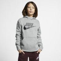 Nike Sportswear Fleecehoodie voor kids - Grijs