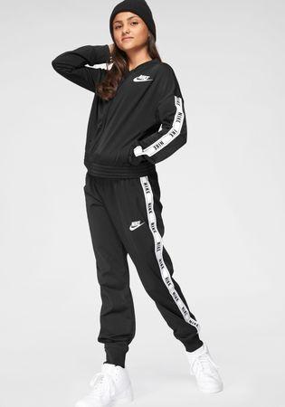 Nike Sportswear trainingspak GIRLS NIKE SPORTSWEAR TRACKSUIT TRICOT (set, 2-delig)