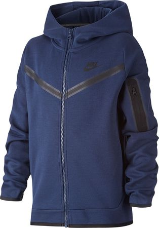 Nike Tech Fleece Full Zip Hoodie Kids