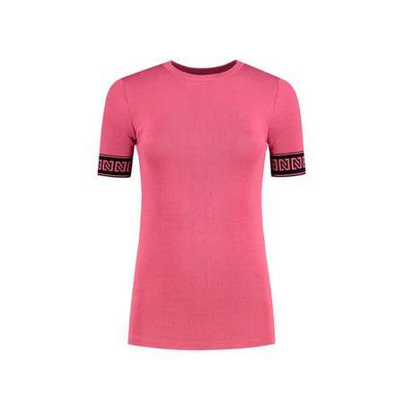 NIKKIE T-shirt Jolie roze/zwart